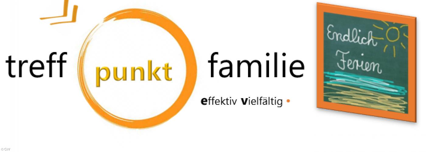 Logo mit Hinweis auf Ferien
