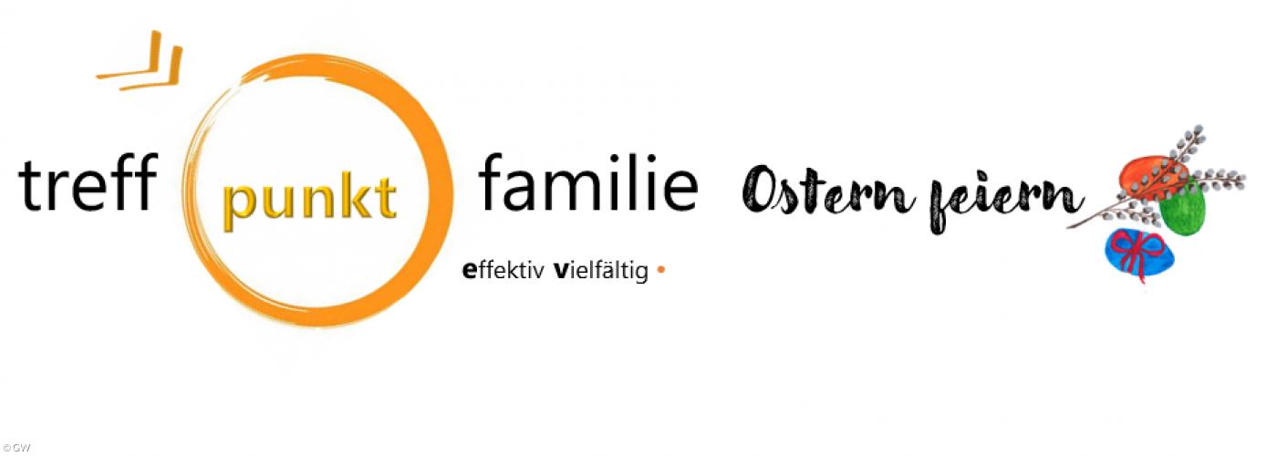 Logo und Hinweis auf das Thema Ostern