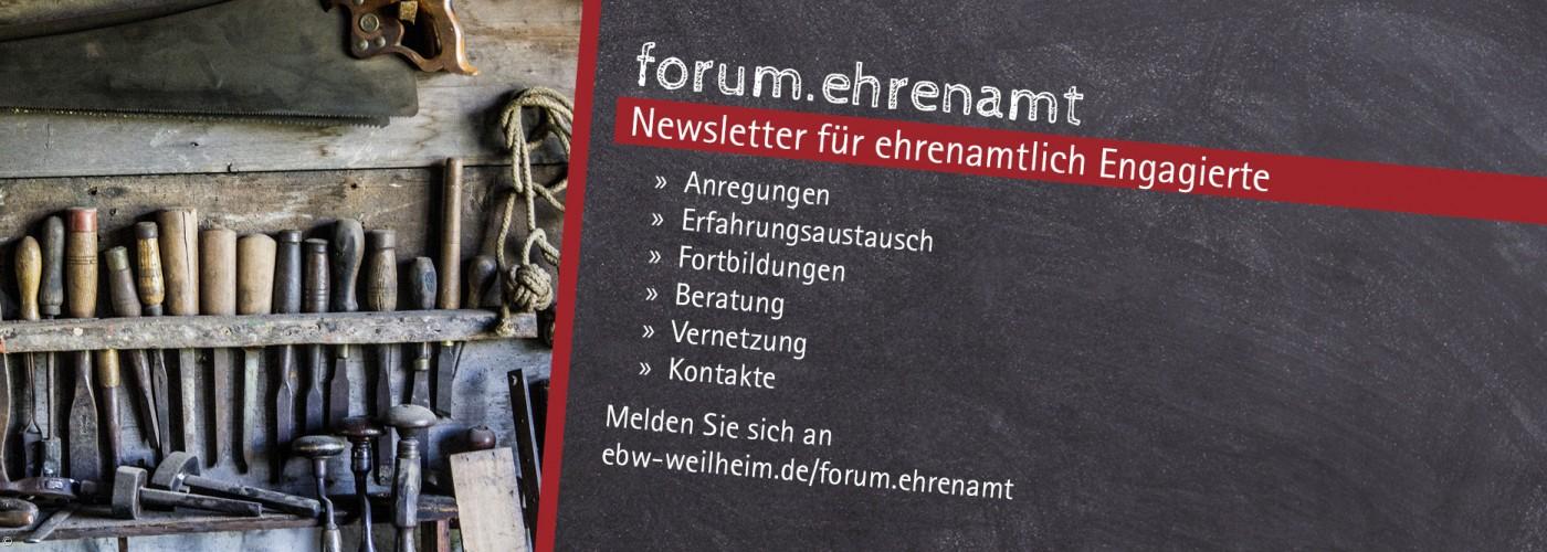 Titelbild forum.ehrenamt - Symbolbild: Werkzeuge