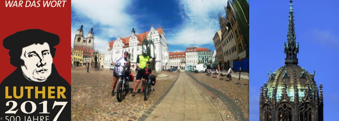 Titelbild des Luther Radpilgerwegs